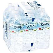【Amazon限定ブランド】 Restock サントリー 南アルプス天然水 シュリンクパック(エコクリア包装) 2L ×9本