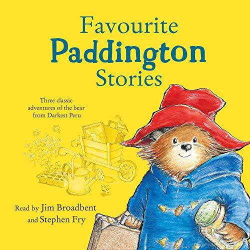 Favourite Paddington Stories audiobook cover art