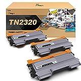 7Magic TN2320 Cartucho de Tóner Compatible para Brother TN2320 TN2310 para Brother HL-L2300D L2340DW L2360DN L2365DW DCP-L2500D L2520DW L2540DN MFC-L2700DW L2720DW L2740DW (Negro, 3 Pack)