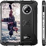 OUKITEL WP8 Pro Unlocked Rugged Smartphone, Android 10 4GB RAM + 64GB ROM MT6762D Cellphone, IP68 5000mAh 6.49 inch Dual SIM 16MP Rear Triple Camera NFC Global Version Mobile Phone (Black)