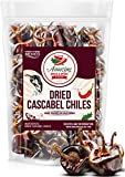 Dried Cascabel Chiles 4oz – Natural and Premium Peppers. Great For Mexican Recipes, Salsa, Sauces, Stews, Meats, Enchiladas. Mild Heat – Nutty, Smoky, Slightly Earthy Flavor. Air Tight Resealable Bag.