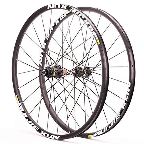 Hs&con Bike Wheelset 700C Relojamiento rápido Bicicleta Bicicleta Ciclismo Rueda Disc ARRENO Freno Sellado COVIDOR COVIDO 6 PANTES para Cassette 11 Velocidad (Color : Black, Size : 700C)