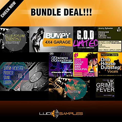 UKG Bundle 10 in 1 - Tools for UK Garage & House Music Production DVD non BOX