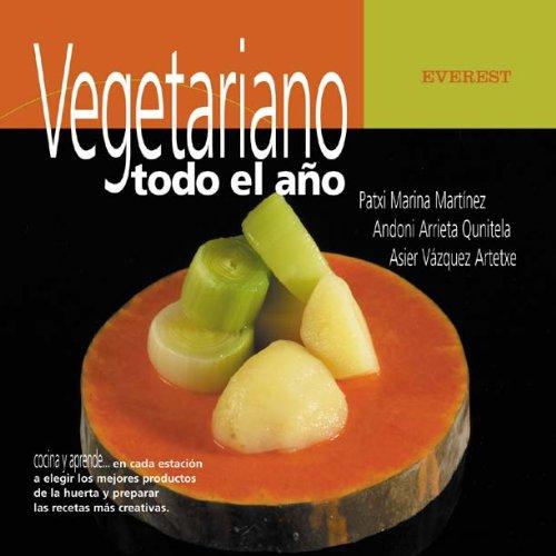 Vegetariano todo el año (Cocina y aprende)
