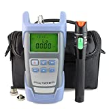 Fiber Optic Cable Tester FC SC & 2.5mm 30mV Visual Fault Locator with Sc,Fc Connector and Shoulder Toolkit
