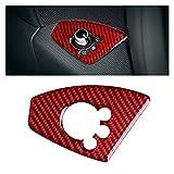 DINGSONGYANG Cubierta de la puerta de la puerta del interior del automóvil de la fibra de carbono CUBIERTA DE LA CUBIERTA DE LA CAJA PARA 2008-2014 AUDI TT 8N 8J MK1 MK2 MK3 TTRS ( Color Name : Red )