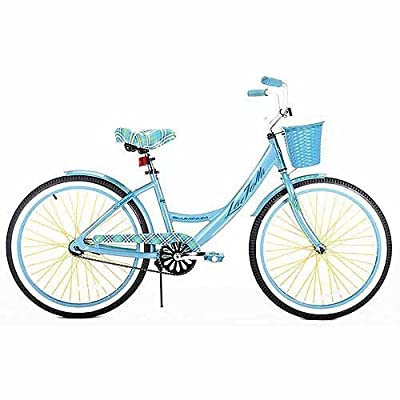 "Kent 24"" Girls', La Jolla Cruiser Bike, Light Blue, For Ages 12 and Up"