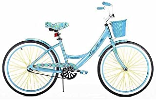 24 Girls' Cruiser Bike, aluminum, No fuss single speed, rubber seat, fender by MegaDeal
