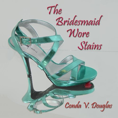 The Bridesmaid Wore Stains audiobook cover art