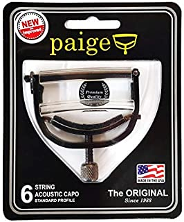 Paige ペイジ Capo カポ 6-String Guitar P-6E