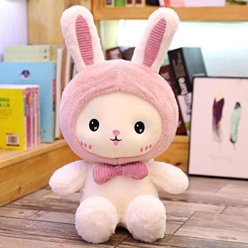 CPFYZH Muñeca Muñeca Conejito Pequeño Muñeco de Tela de Juguete de Peluche, Mujer Lindo Sueño Súper Lindo, Regalo de Cumpleaños-Rabbit_40 Cm