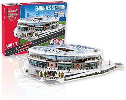 Nanostad - Nanostad 03735 3D Puzzle Arsenal Emirates Stadium