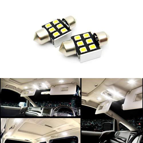 2 x Blanc 269 3175 C5 W 31 mm Ampoule Navette CANBUS éclairage Intérieur LED Samsung Courtois dôme carte lumière