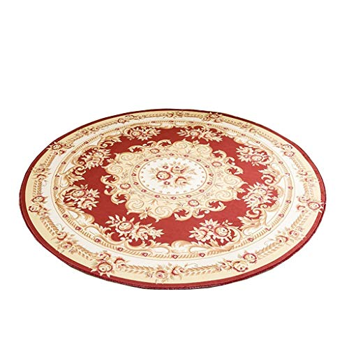 Why Should You Buy CarPet Round Mat Polyester Fabric Coffee Table Bedroom Wearable Various Sizes (Co...