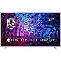 "Philips 32PFS5823, Televisor con Tecnología LED, Full HD, Pixel Plus HD, Dolby Audio, Smart TV y HDMI, USB, 32"""