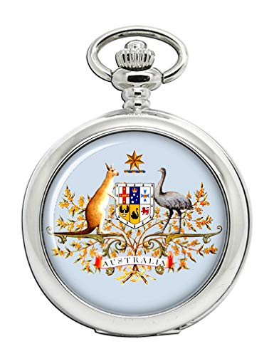 Giftshop.uk.com watches Australien Wappen Taschenuhr