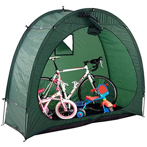 Bike Tent 190T Bicycle Cover with Window Design Protective Storage Shed for Garden Outdoor Home Shelter 78.7x34.6x65in