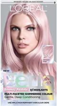 L'Oreal Paris Feria Multi-Faceted Shimmering Permanent Hair Color, Pastels Hair Color, P2 Rosy Blush (Smokey Pink), Pack of 1, Hair Dye