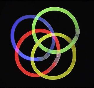 comprar comparacion KnickLichter Glowinx - 100 barras luminosas, mexcla de 7 colores,set completo incl. 100 x conectores TopFlex, 2 x conect...