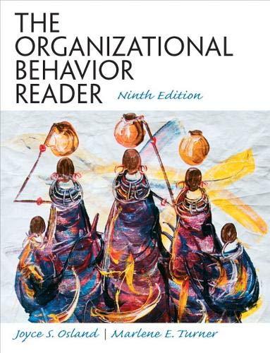Organizational Behavior Reader, The