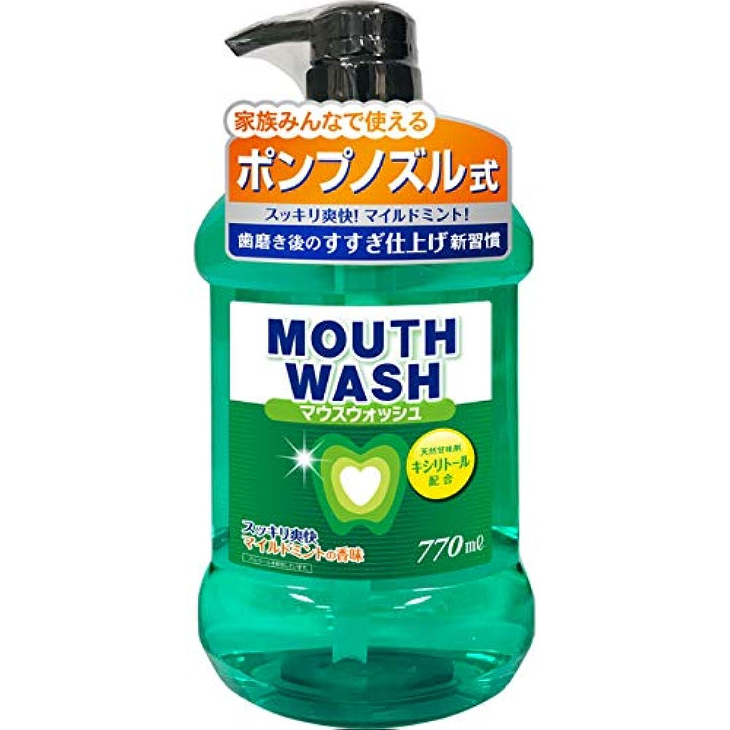 石アンケート機構G-クエスト オールデントマウスウォッシュ マイルドミントの香味 770ml