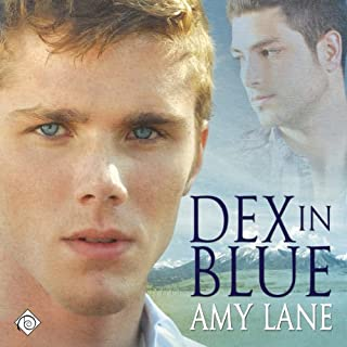 Dex in Blue audiobook cover art