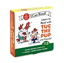 Learn to Read with Tug the Pup and Friends! Box Set 3: Levels Included: E-G (My Very First I Can Read)
