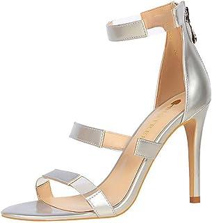 77719cd8e Girls Women Fashion High Heel Stiletto Sandals Pumps Shoes Ladies Summer  Two-Strap Peep Toe