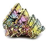 Muestras de cristal de bismuto, tamaño extra grande (50-60 mm)