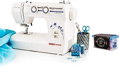 Usha Janome Wonder Stitch Automatic Zig-Zag Electric Sewing Machine (White) with Free Sewing KIT Worth RS 500