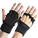 Sportneer Fitness Gym Gloves with Wrist Support Grip and Breathable Glove Design Used