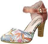 Laura Vita Alcbaneo 54, Scarpe con Cinturino alla Caviglia Donna, Multicolore (Corail Corail), 38 EU