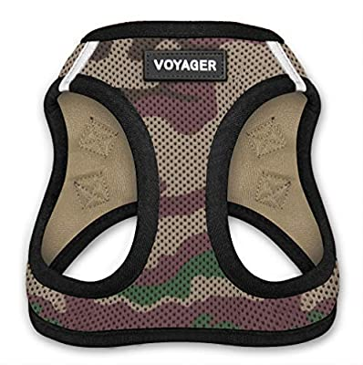 Voyager Step-in Air Dog Harness - All Weather Mesh, Step in Vest Harness for Small Dogs and Cats by Best Pet Supplies