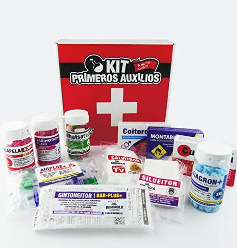 Regalo Super-original de cumpleaños | KIT 1 |Del Dr. Gominolo- Kit risas garantizadas (De Crazylabs).