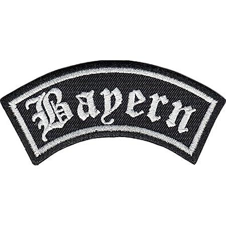 Bayern Biker Rider Rankpatch Deutschland Motorcycle Aufnäher Patch Abzeichen Auto