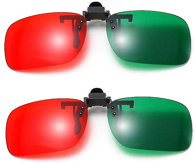 Clipon 3D Glasses Red//Cyan for The Final Destination 3D