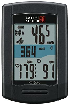 CatEye Stealth 50 CC-GL50 Bike Computer Wireless Black