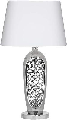 Oaks Lighting Moke Table Light, Chrome