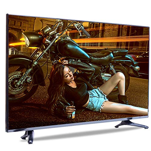 Televisores Smart TV LED Full HD 4K de 32/42/55/60 Pulgadas, USB HDMI VGA LED Pantalla de Visualización de Monitoreo de Seguridad de Televisión Ultradelgada Android WiFi Smart TV