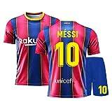 Camiseta de fútbol Argentina 2021 para fans Lioněl Měssi #10 rojo-XXL
