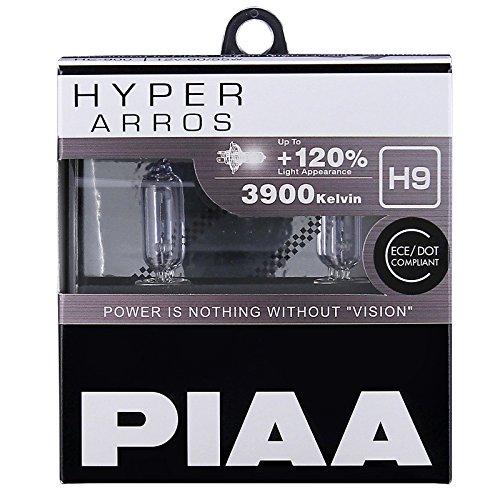 PIAA Hyper Arros H9 Ampoules de voiture +120% (Paire) HE905