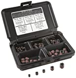 E-Z Lok Threaded Inserts For Metal; Assortment Kit; Carbon Steel; Metric Internal Threads,...