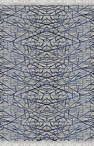 Bonamaison Alfombra Impresa Digital, Multicolor, 120x180 Cm