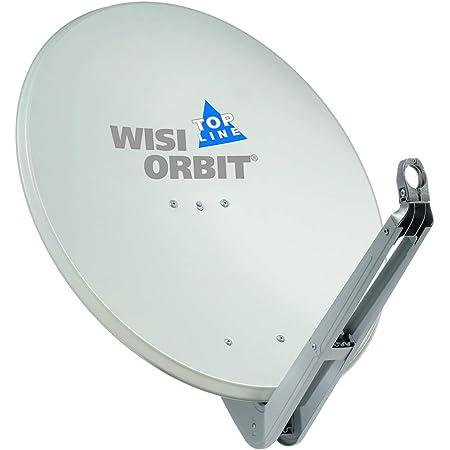Wisi Satellitenschüssel Set In Lichtgrau 80cm Elektronik