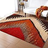 AKDSteel Alfombra de estilo étnico vintage para sala de estar, hogar, dormitorio, mesa de café, alfombra de piso C806-22 120 x 160 cm productos