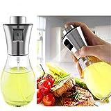 Olive Oil Sprayer, Food-grade Glass Oil Spray Portable Spray Bottle Vinegar Bottle Oil Dispenser for for BBQ Salard Cooking Baking Roasting Grilling Frying Kitchen