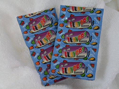 50 Pack Flavored Condoms, Joe Lube