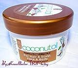 Kokosöl Gesicht Kopfhaut Haar Körper mit Kokosnusswasser Perfekt Multifunktional für Haar & Kopfhaut, Gesicht & Körper, 125 ml