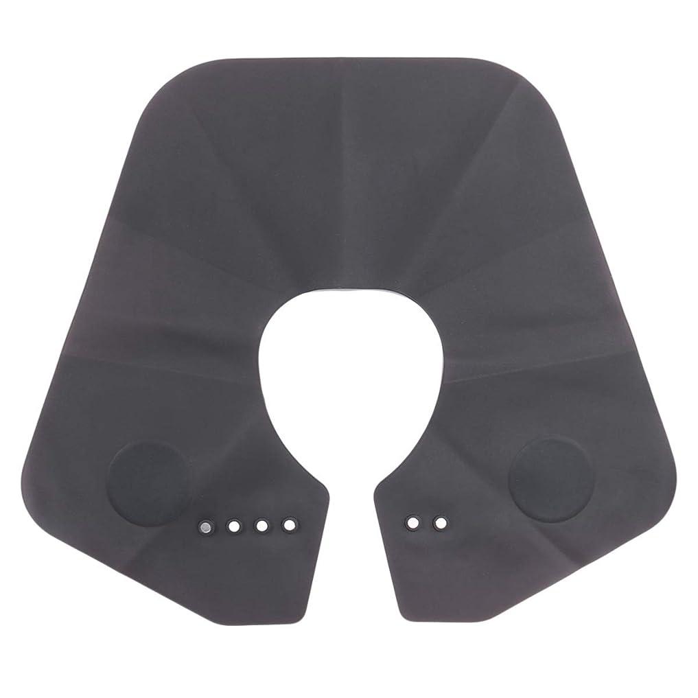 メナジェリー電話投資ROSENICE ヘアケアケープシリコンヘアケアケープヘア染色エプロンアイロンヘアシャロール