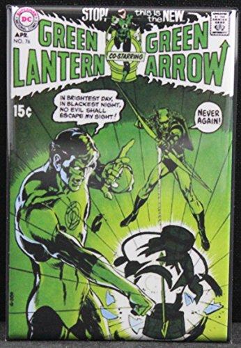 The Green Lantern #76 Refrigerator Magnet. The Green Arrow!